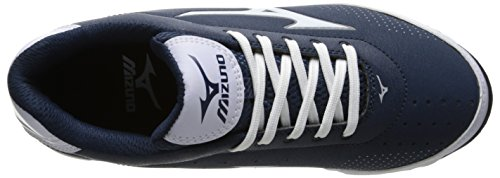 Mizuno , Herren Baseballschuhe weiß weiß Marineblau / Weiß