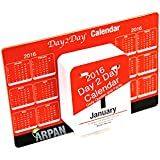 Arpan 2016 Daily Tear Off Desktop Calendar Day A Page With Famous Quotes (+Free Arpan Notebook)