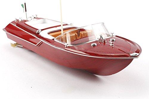 H Km Rc-boot 30 / (Maximum RC Boot mit 46 cm Länge und Sicherheitsmechanismus - Ferngesteuertes Boot für Kinder - einfachste Bedienung)