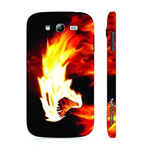 Samsung Galaxy J7 Firey Killer Instinct designer mobile hard shell case by Enthopia