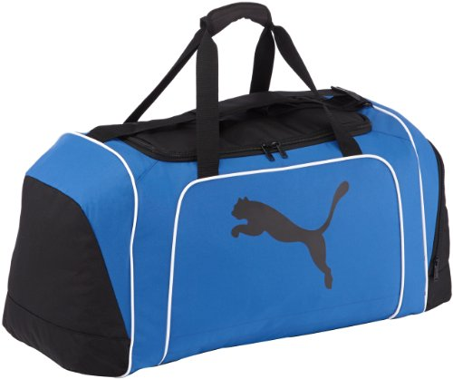 PUMA Tasche Team Cat Large Bag, Black-Team Power Blue-Black, 70 x 35 x 30 x cm, 071433 03