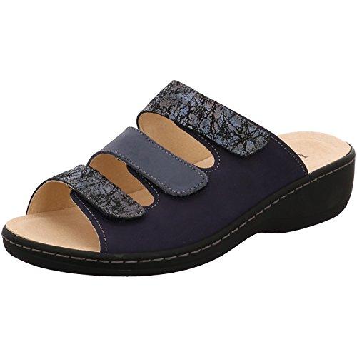 Longo Donna Sabot Longo G blu, (ocean/jeans/multi) 3074250-3 ocean/jeans/multi
