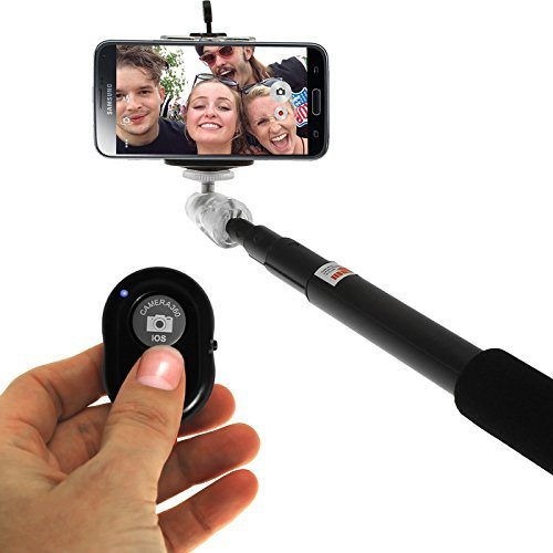 Amore Sony Tablet P Compatible Bluetooth Selfie Stick with an Universal Phone Holder and Wireless Remote Shutter works via a Free Application auto bluetooth sync via App . Feature to Toggle Between Front & Back Camera with a Click of a Button on the Remote  available at amazon for Rs.249