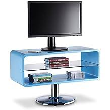 Amazon.it: Mobiletto Porta Tv Vetro