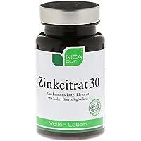 NICAPUR ZINKCITRAT 30 60St Kapseln PZN:5119510 preisvergleich bei billige-tabletten.eu