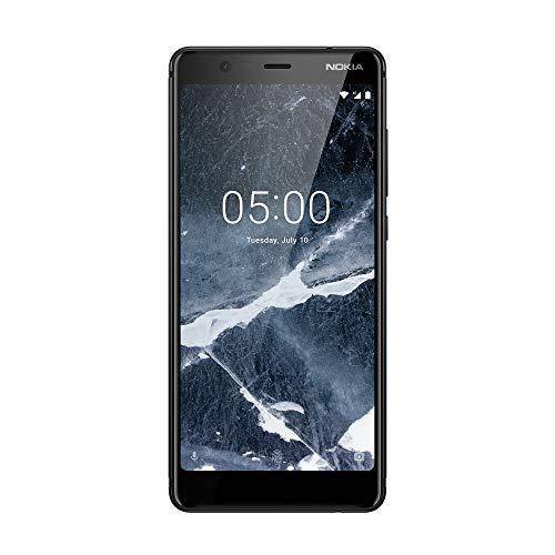 """Nokia 5.1 14 cm (5.5"""") 3 GB 32 GB SIM Doble 4G Negro 2970 mAh - Smartphone (14 cm (5.5""""), 3 GB, 32 GB, 16 MP, Android 8.0, Negro)"""