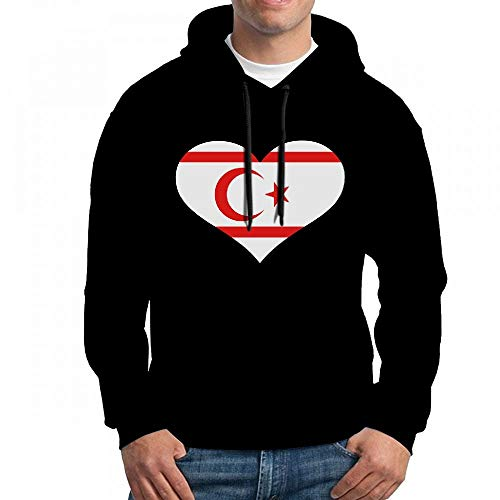ruziniujidiangongsi Sweatshirt for Men North Cyprus Hoodie