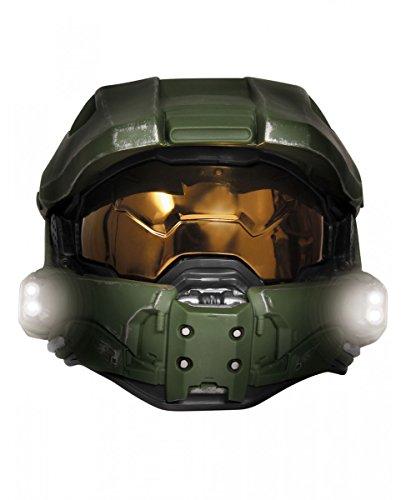 Original Halo 3 Masterchief Deluxe Helm mit Licht für Cosplay und - Halo-halloween-maske