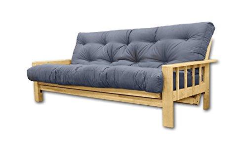 Sofá Cama Vienna, futon Gris, 207x100x30 cm: Amazon.es: Hogar