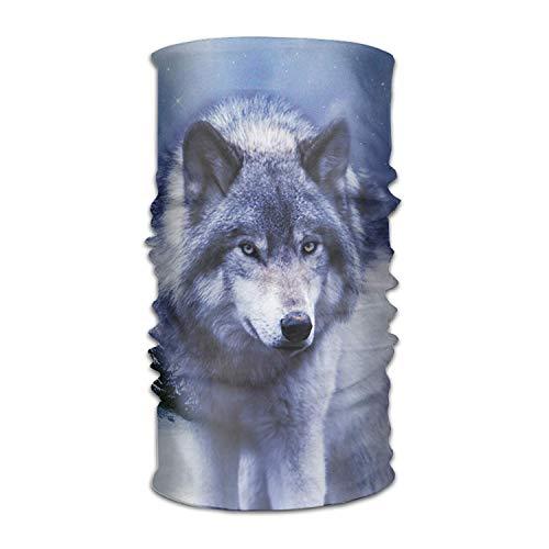 Vidmkeo Wolf Unisex Beautiful Variety Scarf Head Scarf Scarves Face Masks Headband Cap Headwear Bandanas Sport Head Scarf Multicolor8