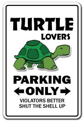 Neuheit Geschenk Schildkröte Liebhaber Parken Schild Funny Ocean Aquarium Sea Tier Yard Dekorative Aluminium Metall Türschild für Schlafzimmer, - Fish Tank Ocean