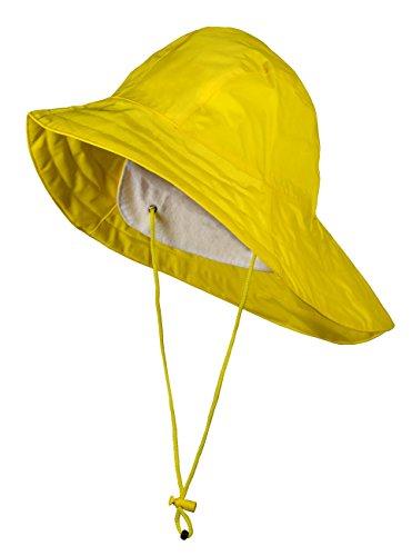 BMS Südwester, Regenhut mit Innenkrempe, Farbe:gelb;Größe:56/57 (Regen Hut)