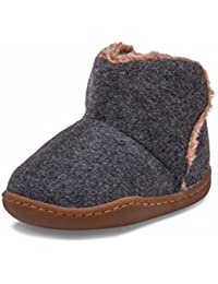 Little Blue Lamb–Zapatos para bebé unidad lernschuhe Booties Botas 38639gris
