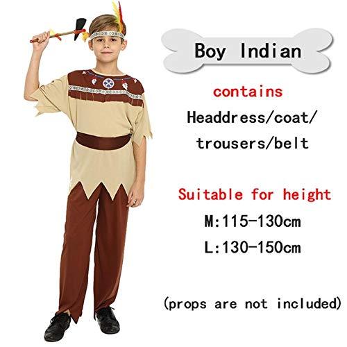 Vampire Kostüm Mädchen Hunter - NiQiShangMao Halloween Cosplay Kostüme Indian Indigene Kleidung COS Uniform Temptation Kostüme Fransen Savage Forest Hunter Halloween