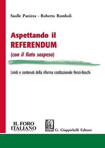 Aspettando il referendum (con il fiato sospeso). Limiti e contenuti della riforma costituzionale Renzi-Boschi