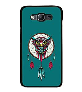 Fuson Premium 2D Back Case Cover Eagle With blue Background Degined For Samsung Galaxy On5::Samsung Galaxy On5 G550FY