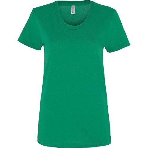 American Apparel Womens/Ladies Polycotton Short Sleeve T-Shirt Kelly Green