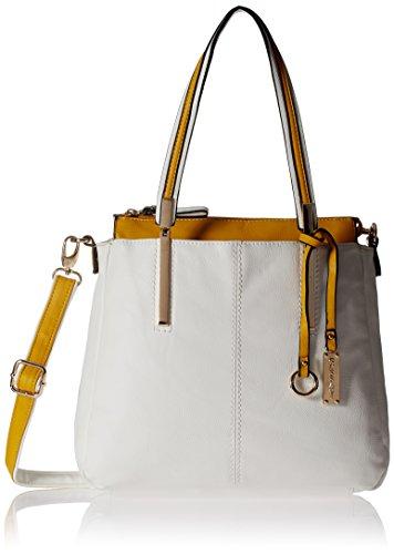 Gussaci Italy Women's Handbag (White) (GC426)