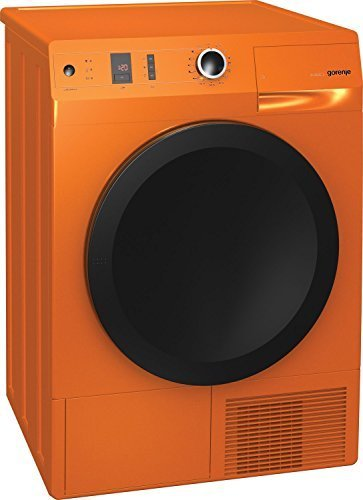 Gorenje D8565NO Orange 8Kg A+ Heat Pump Condenser Dryer with 5Yr Wrty