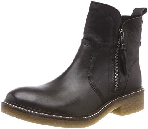 camel active Damen Palm 73 Stiefeletten, Schwarz (Black 3), 40 EU (6.5 UK)