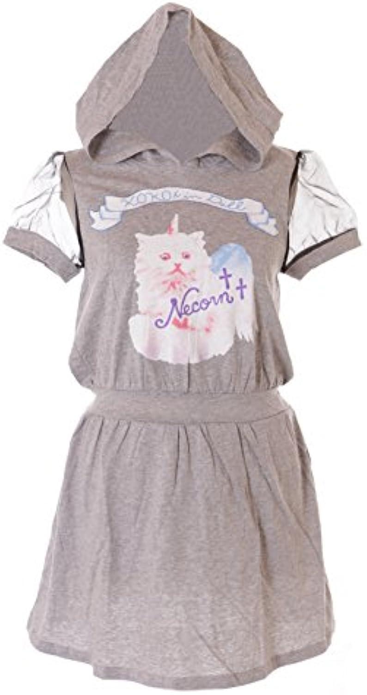Kawaii-Story - - T-Shirt - A Punta Tonda - Donna Grigio grigio ... 49a57d6e6f0