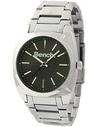 Bench BC0169BK - Reloj de caballero de cuarzo color plata