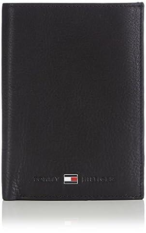 Tommy Hilfiger JOHNSON N/S WALLET W/COIN POCKET AM0AM00664 Herren Geldbörsen 14x10x2 cm (B x H x T), Schwarz (BLACK 002)