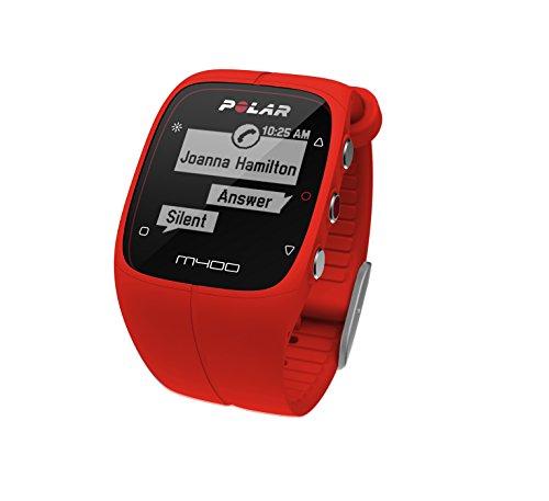 Preisvergleich Produktbild Polar - M400 - Rot - ohne Brustgurt
