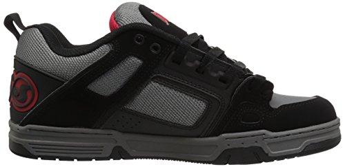 DVS COMMANCHE, Sneaker uomo BLACK CHARCOAL NUBUCK
