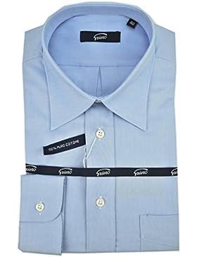 El Hombre De Camisa Clásico Cielo Azul Oxford Collar De Italia