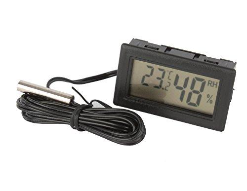 Digital Hygrometer Thermometer, Feuchtemesser, Wohnwagen, Zelt, Boot LCD P6