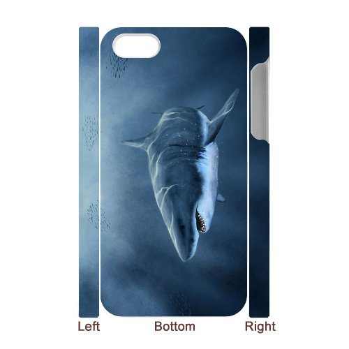 LP-LG Phone Case Of Deep Sea Shark For Iphone 5C [Pattern-6] Pattern-3