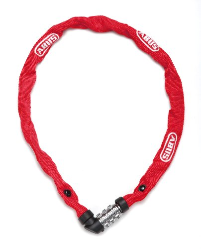 Abus 1200 / 60 - Anti-theft chain for bicycles, 60 cm, Red (web red)