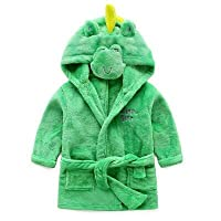 eBoutik - Childrens Animal Soft Bathrobe Dressing Gown PJ