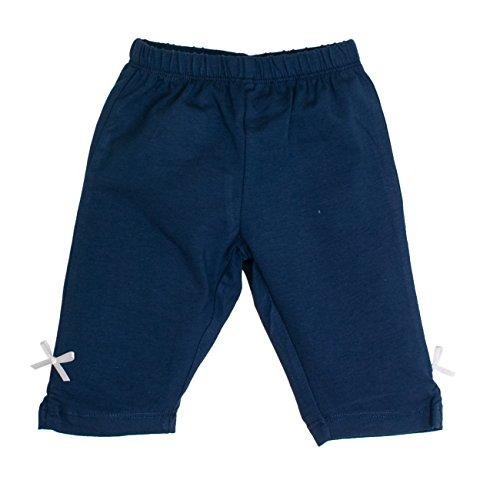 SALT AND PEPPER Baby - Mädchen Shorts B Capri Beach uni 73214216, Einfarbig, Gr. 74, Blau (dutch 465)