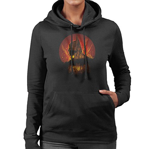 Batman City Knight Women's Hooded Sweatshirt Black