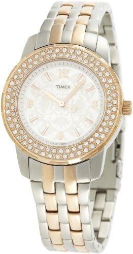 Timex Fashion Analog Silver Dial Women's Watch - T2N148