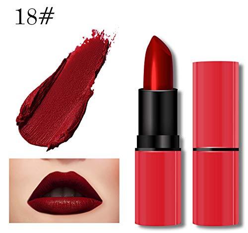 Lipgloss,Rabatt,PorLous 2019 Beliebt 1 STÜCK Neue Mode Wasserdichte Matte Flüssigen Lippenstift Kosmetik Sexy Lipgloss Feuchtigkeitsspendend 7
