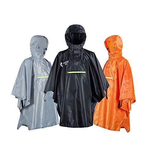 Hunpta@ Regenponcho, 10 stück Einweg Notfall Wasserdicht Regenmantel Regenponcho mit Tourismus-Wegwerfregenmantel verdicken Erwachsene kampierende Regenmantel-Reise im Freien
