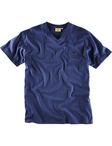 "ROADSIGN australia Basic T-Shirt ""Baseline-V"" Marine"