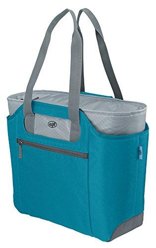alfi 0007.253.812 Shopper isoBag M, Polyester Aquamarin 23 L, inkl. herausnehbarer Kühltasche