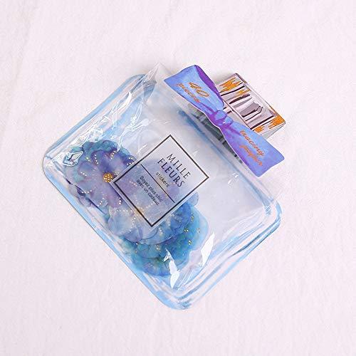 Amphia - Kleine Blumenaufkleber Papiertüte Wasserdichte PVC-Aufkleber Heißes Stempeln von Kleinteilen Mille Fleurs.Blütenblatt strukturierte Blume Wandaufkleber Hand-Konto-Dekor