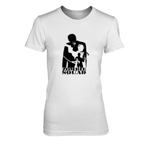 Zombie Squad - Damen T-Shirt Weiß
