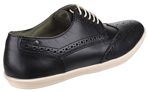 Base London - Brogue uomo Nero (nero)