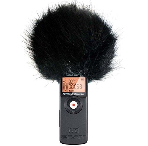 Keep per grancassa-BK Windshield protezione antivento per Zoom H1, H2N, H4N, H5, H6Digital Rekoder e Stereo Videomic Pro microfono per fotocamera