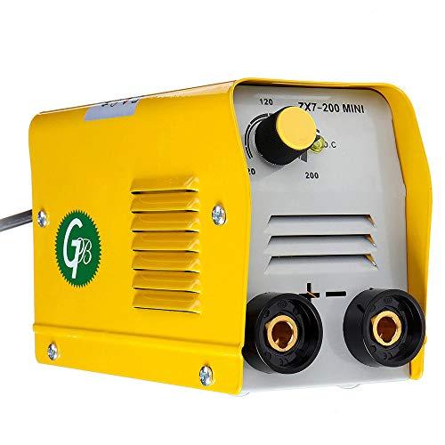 Leepesx Tragbare Haushalts Mini Elektrische Schweißmaschine IGBT DC Inverter ARC MMA Stick Schweißer ZX7-200 220 V