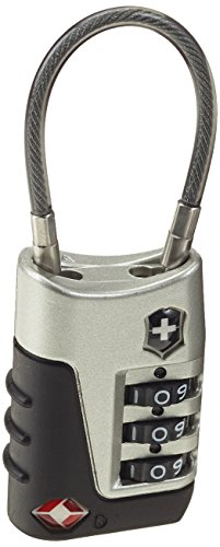 Victorinox Gepäckschloss Lifestyle Accessories 3.0 Travel Sentry Approved Cable Lock 0674204025543 (Travel Sentry Approved Schloss)