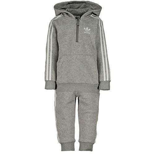 Adidas Originals adidas Originals Baby Jungen (0-24 Monate) Sweatanzug Grau grau Gr. 0-3 Monate, grau