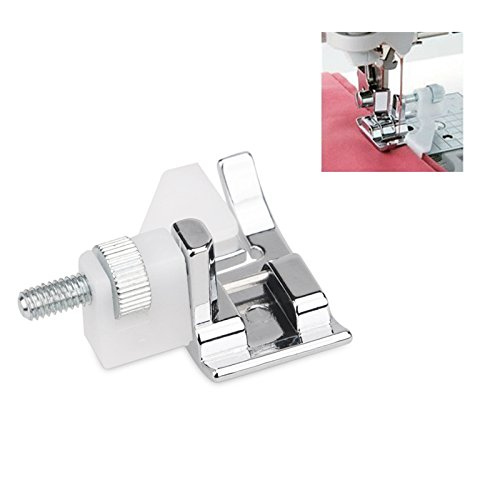VEDANTHAA Compatible Snap On Blind Hem Sewing Machine Presser Foot for Brother Singer Janome