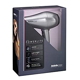 powerlite dryer - 41 KxUBRRAL - Babyliss Silver Powerlite Dryer